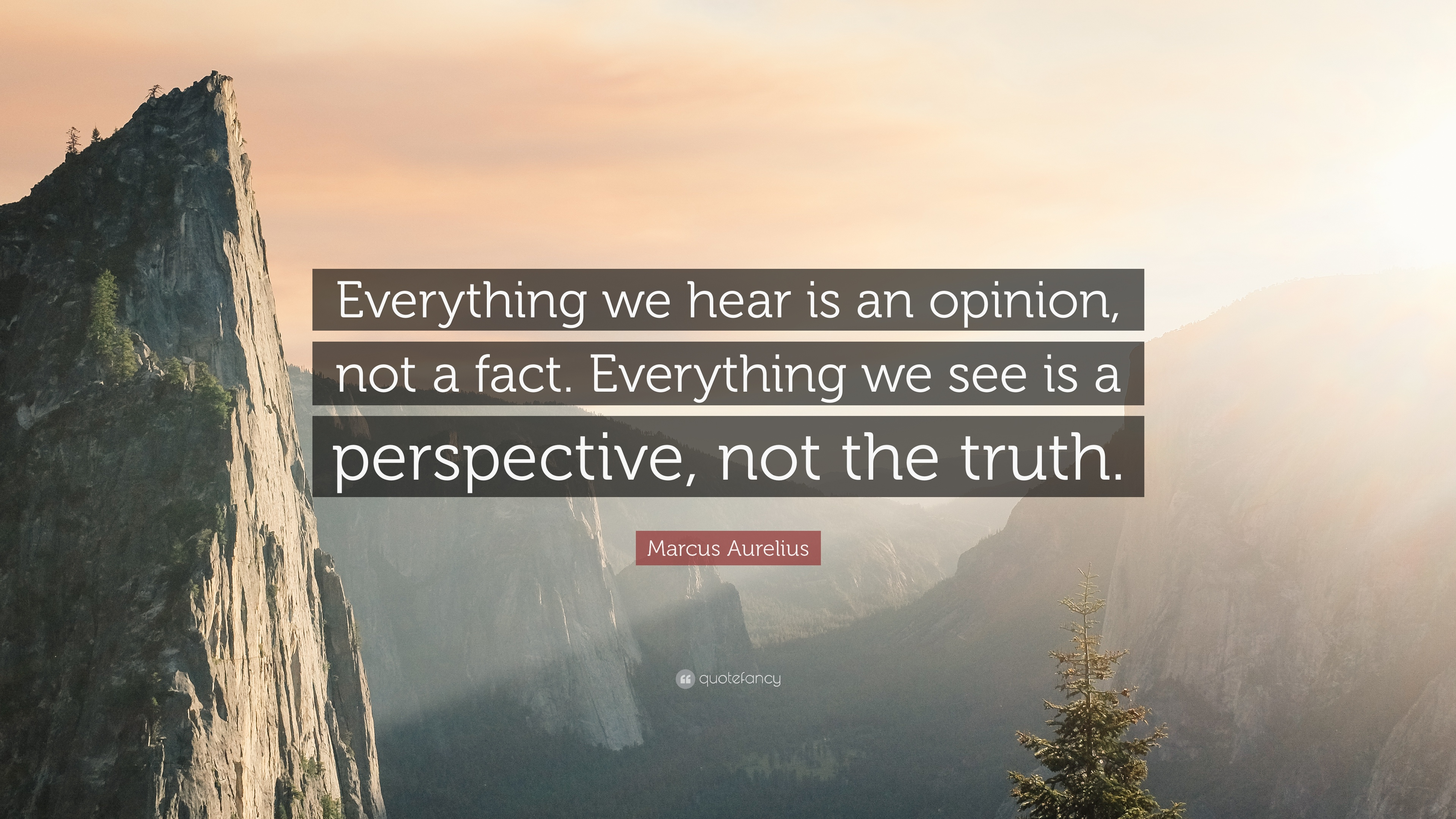 Dalai Lama Wallpaper Quotes Marcus Aurelius Quote Everything We Hear Is An Opinion