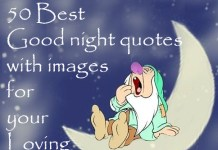 Best Good night quotes wishes messages pictures images