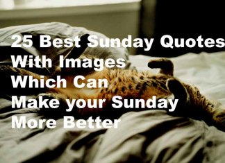Best sunday quotes images sayings wishes