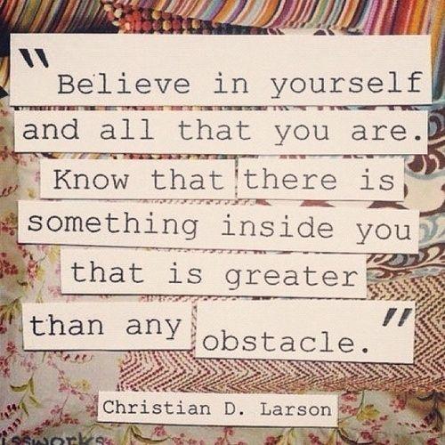 believe quotes short