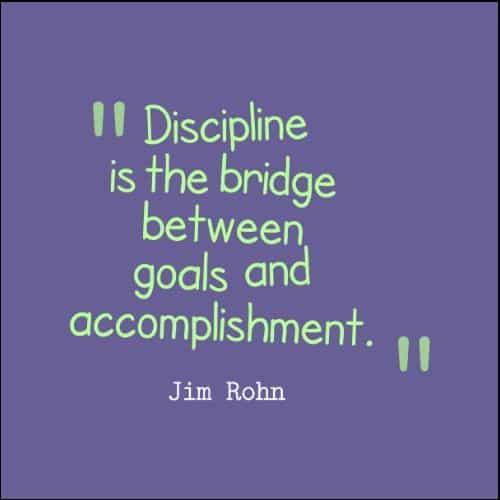 Discipline quotes by jim rohn