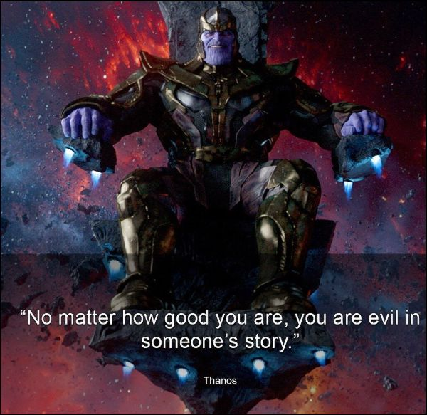 famous thanos quotes