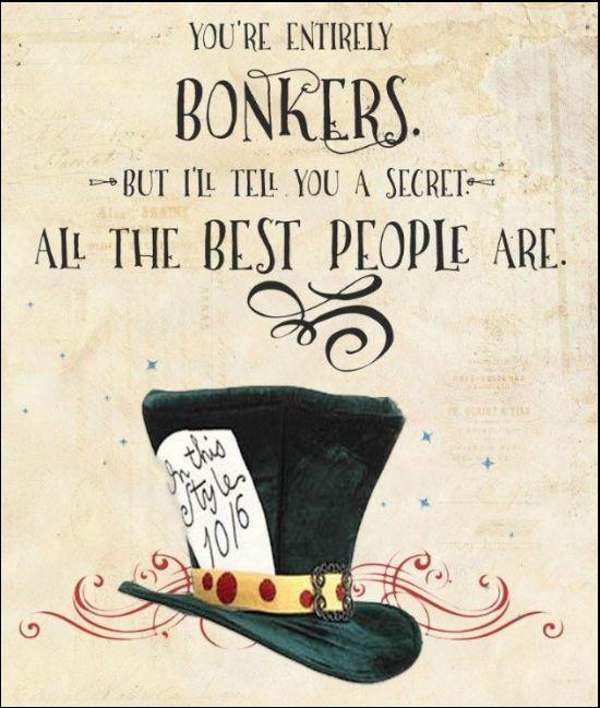 alice in wonderland quotes the secret