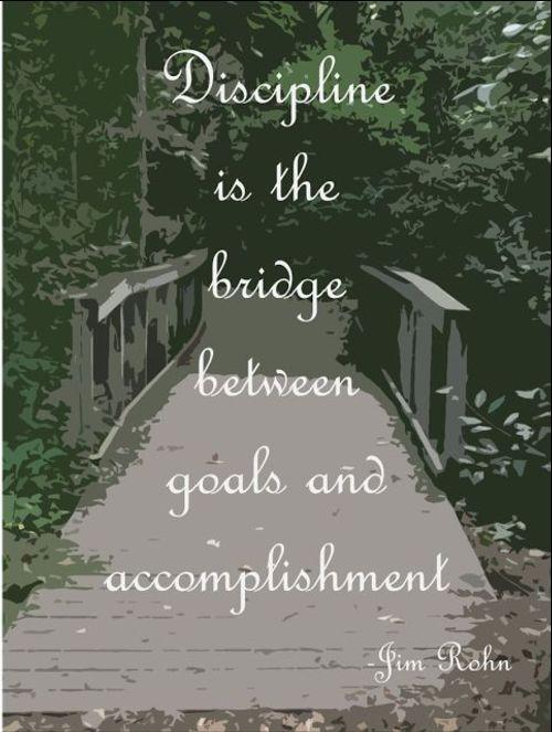 lack of discipline quotes