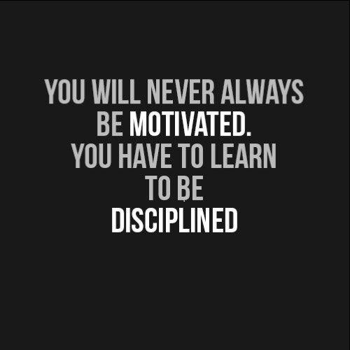 discipline short quotes