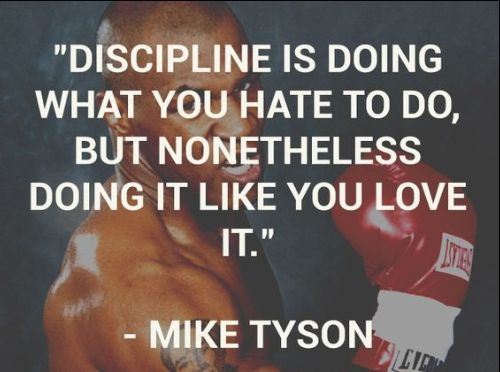 discipline quotes fitness