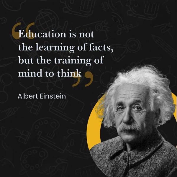 education quotes einstein