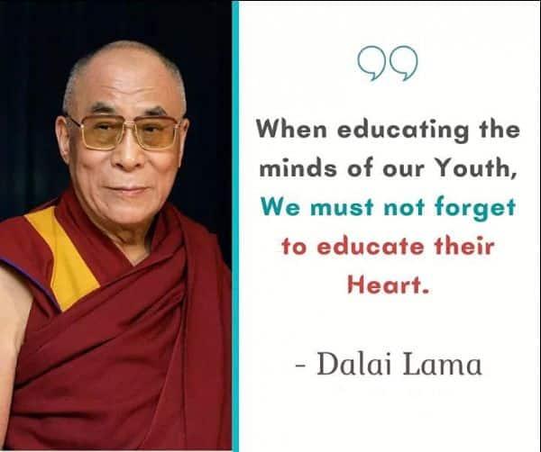 education quotes dalai lama