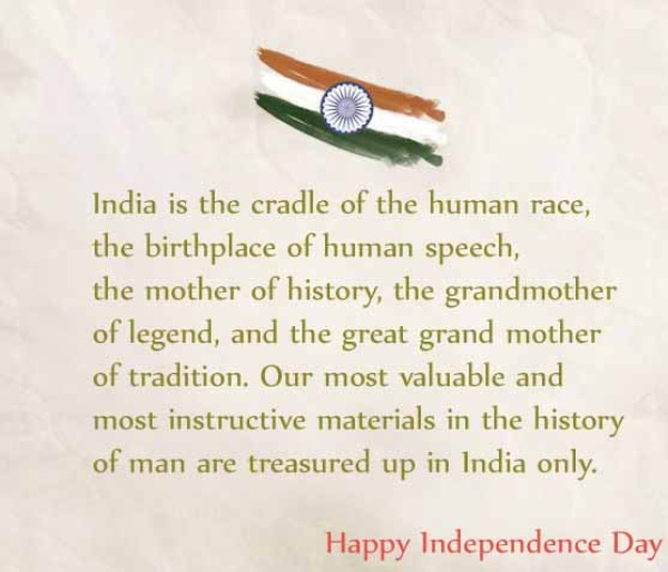 independence day wishes in english