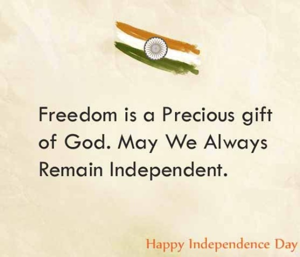 independence day wishes sms in english