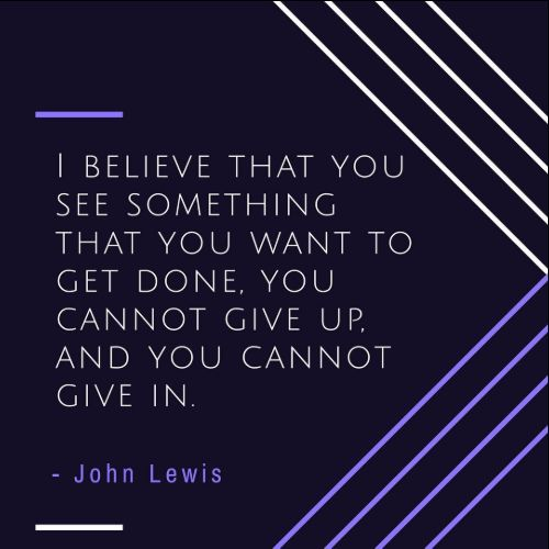 quotes from john lewis march book one