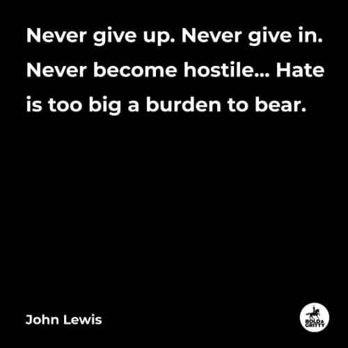 john lewis protesting quotes