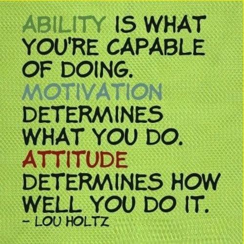 lou holtz quotes ability