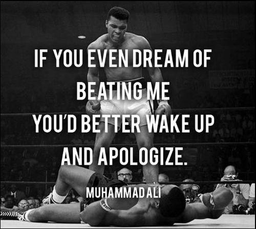 muhammad ali boxer quotes