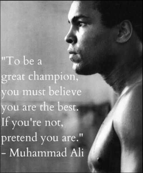 muhammad ali quotes sting like a bee