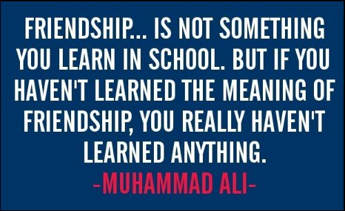 muhammad ali poster quotes