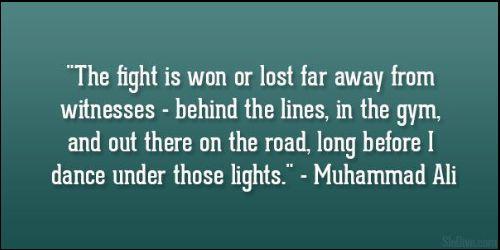 muhammad ali quotes impossible