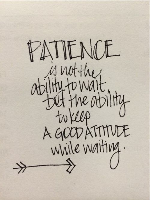 patience quote and sayings