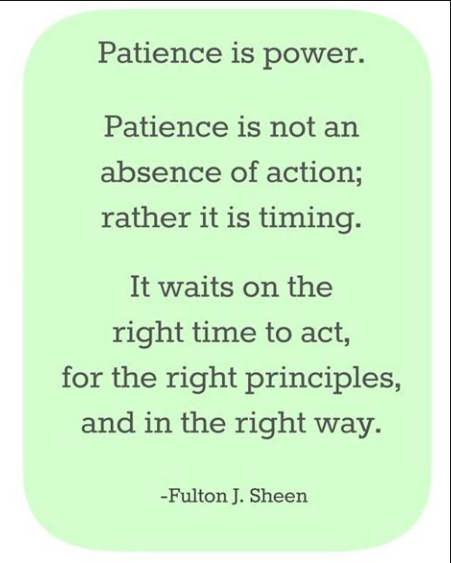 patience limit quotes