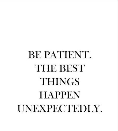 Short Quotes on Patience