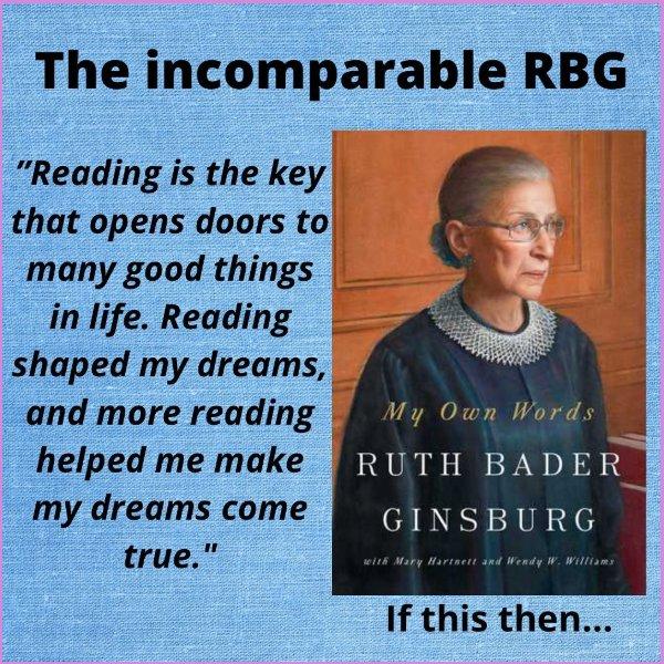 ruth bader ginsburg quotes reading