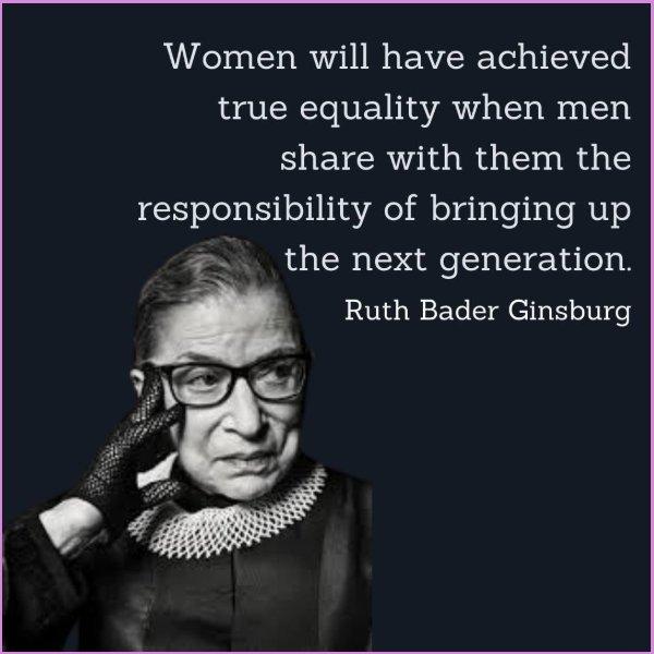 ruth bader ginsburg memorable quotes
