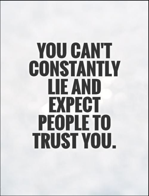 who you trust quotes