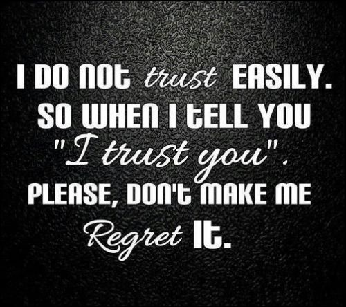 Trust Quotes Best Quotes You Must See Before Trusting
