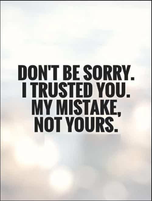 trust quotes positive
