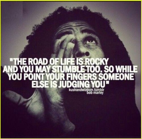 bob marley quotes about judgement