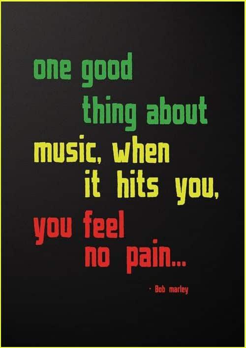 bob marley lyrics quotes music