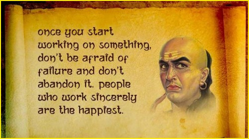 chanakya quotes success