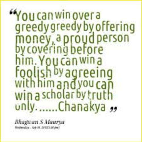 chanakya quotes good morning