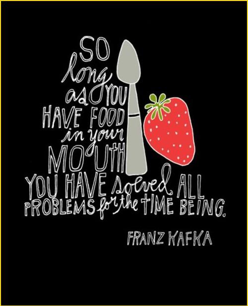 food goals quotes