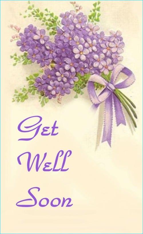 get well soon writing