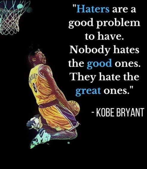 kobe bryant quotes everything negative