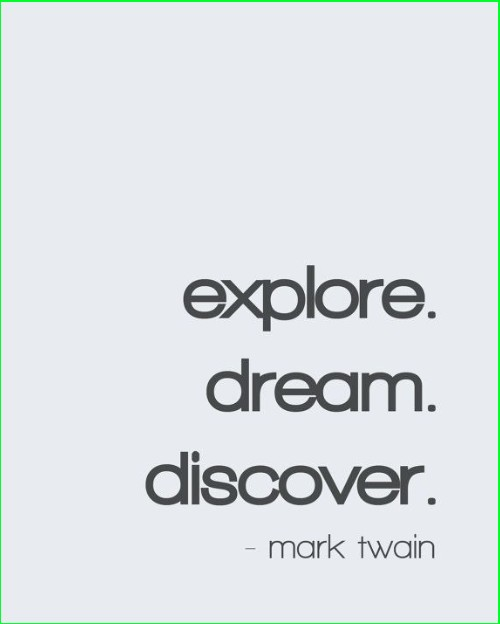 mark twain quotes dream