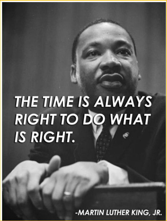 martin luther king time quotes