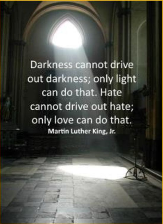 martin luther king quotes darkness