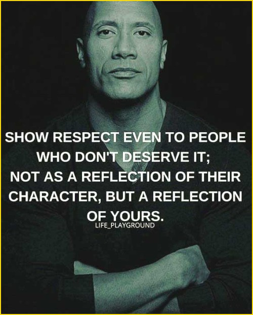 respect quotes disrespect