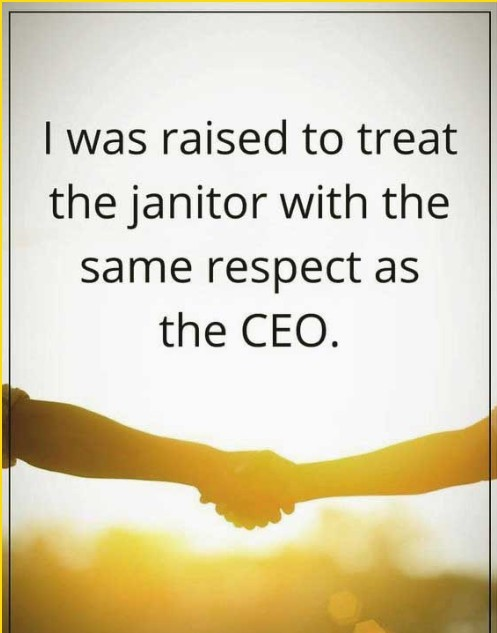 respect job quotes