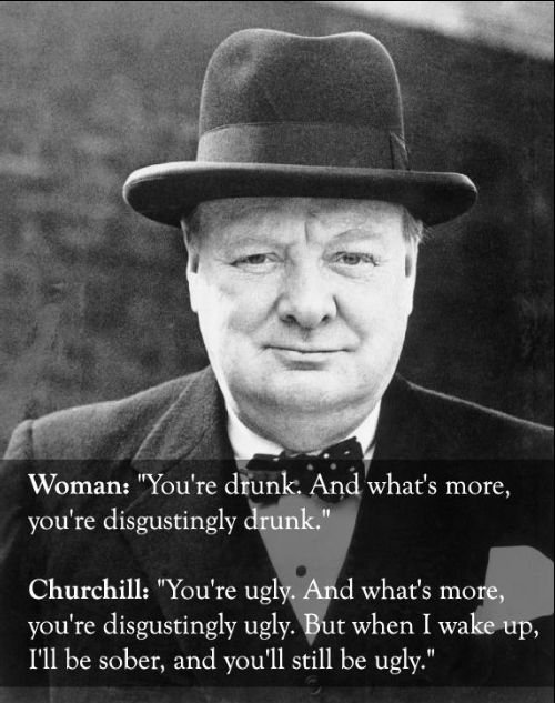 winston churchill quotes about america