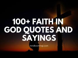 100+ Faith in God Quotes and Sayings