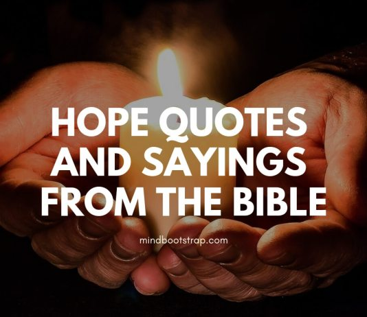Hope Quotes and Sayings from the Bible
