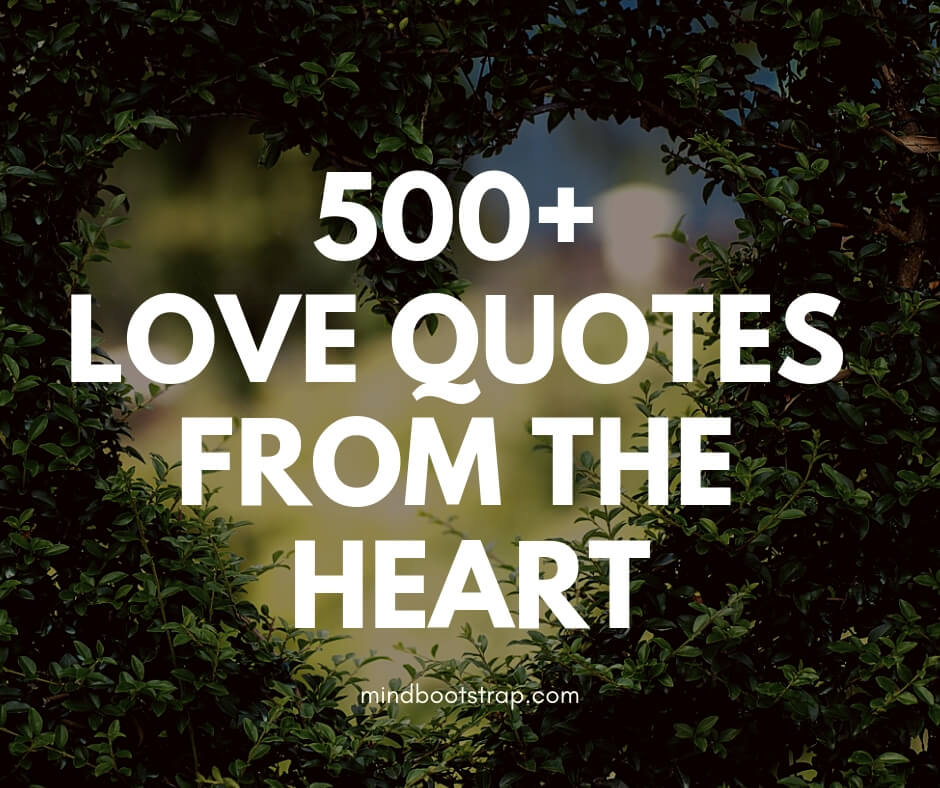 490 Inspiring Love Quotes & Sayings