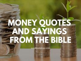Stimulating Scripture Quotations and Sayings About Money