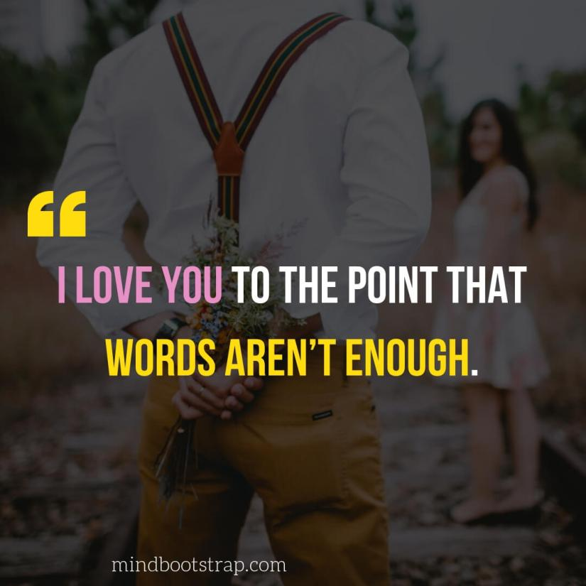 Sweet, Cute and Short I Love You Quotes & Sayings
