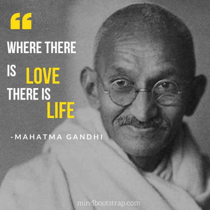 Mahatma Gandhi Quotes About Life