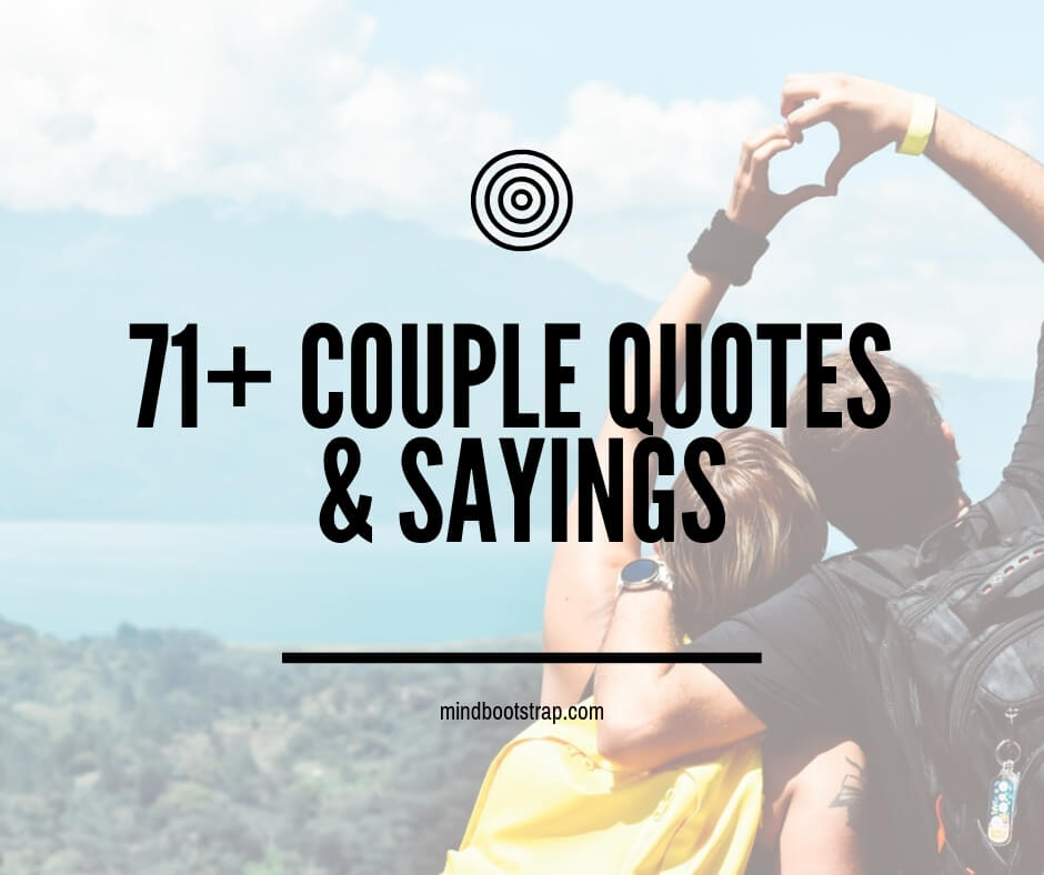 Couple Quotes & Sayings With Pictures