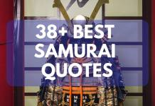 best samurai quotes & sayings